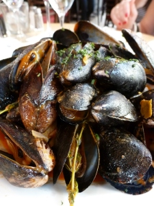 Mussels Provençales at Cedric