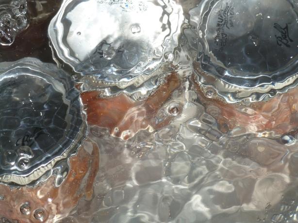 Jars Boiling