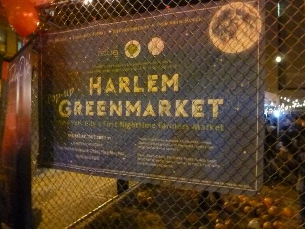 Pop-Uptown Green Market Sign
