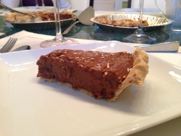 Coconut Pecan Chocolate Pie