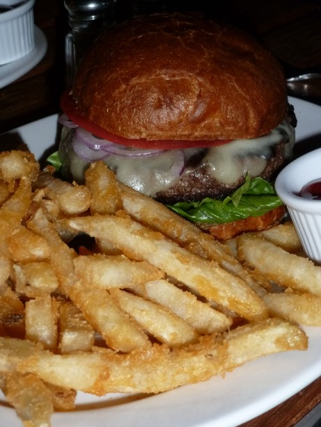HFB Burger & Fries @ Harlem Food Bar