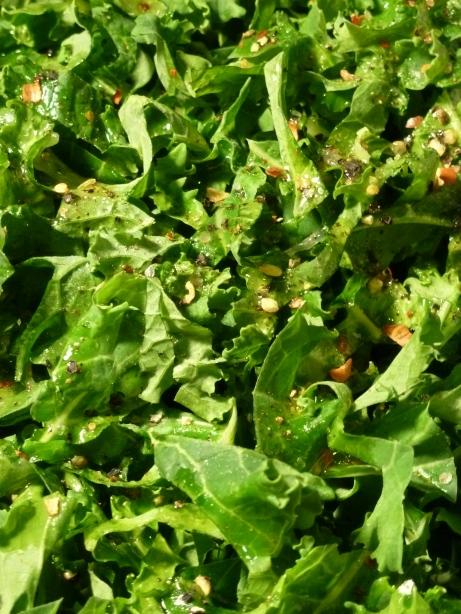 Shredded Seasoned Kale