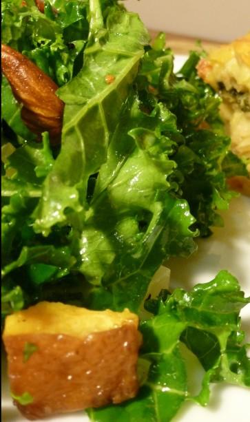 Kale Salad Close up