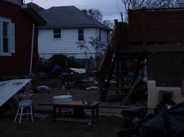 Hurricane Victim's home on Staten Island