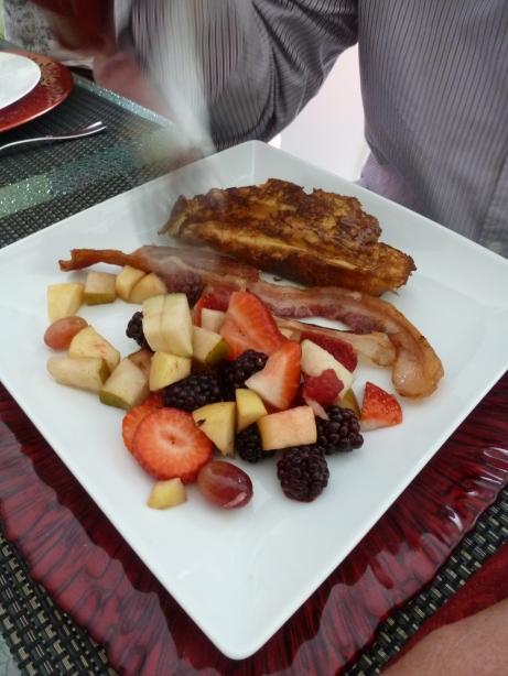 Brunch Breakfast Plate