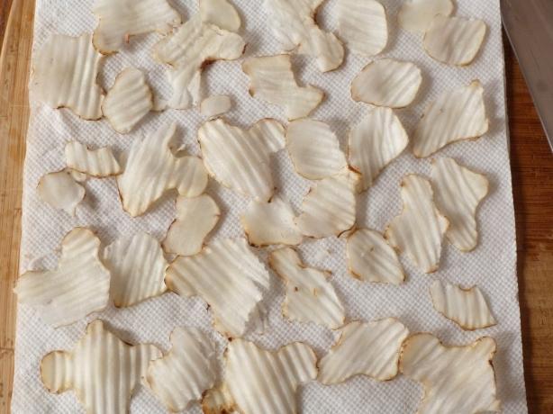 Jerusalem Artichokes (Sunchokes) Drying