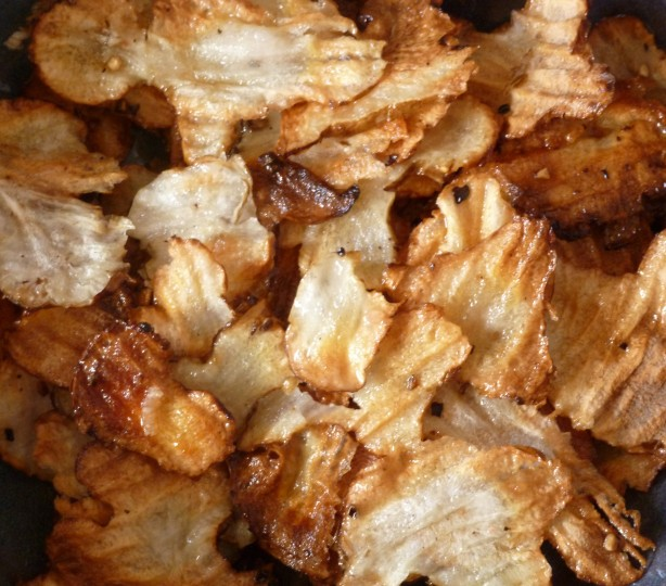 Jerusalem Artichoke (Sunchoke) Chips