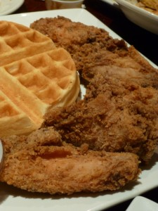Chicken & Waffles @ Lenox Lounge
