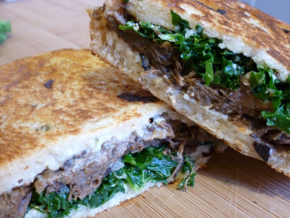 Braised Short Rib Panini2