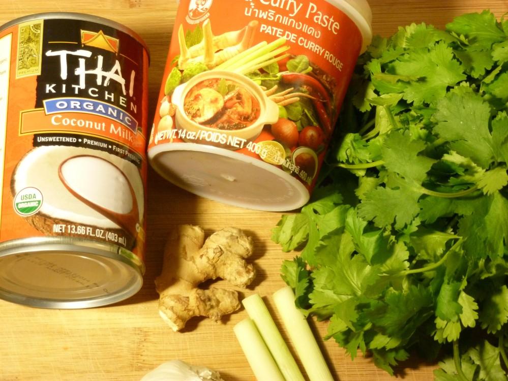 coconut curry soup aeromatics