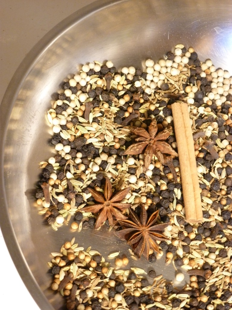 toasting spices for rib rub 2