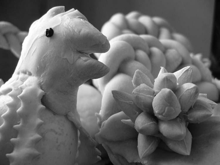 rooster & artichoke