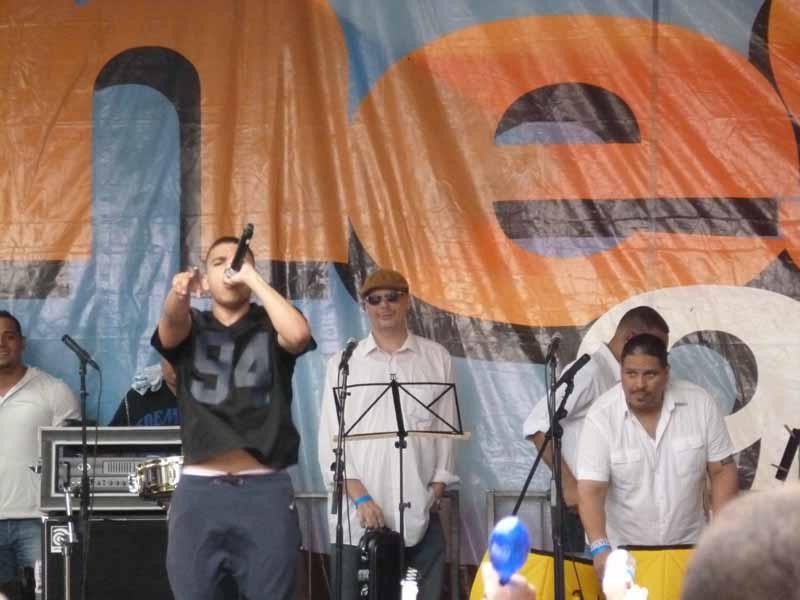 La Mega Stage at Puerto RIcan Festival