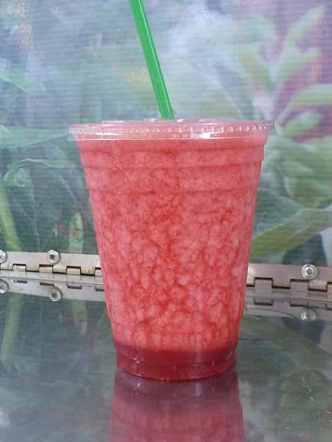 100% Organic Fresh Raspberry Lemonade