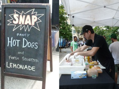 Snap Hot Dog Stand