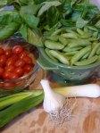 Spaghetti Sugar Snap Peas Ingredients