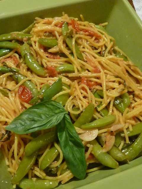 Spaghetti Sugar Snap Peas