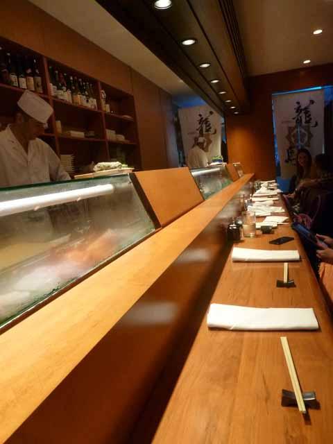 Sushi Bar At Sushi Dojo