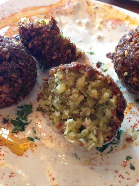 falafel appetizer @SlivanaNYC