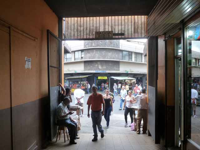 Exit to Central Market