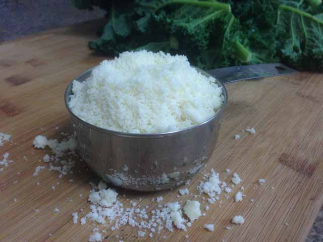 grated asiago and romano cheese