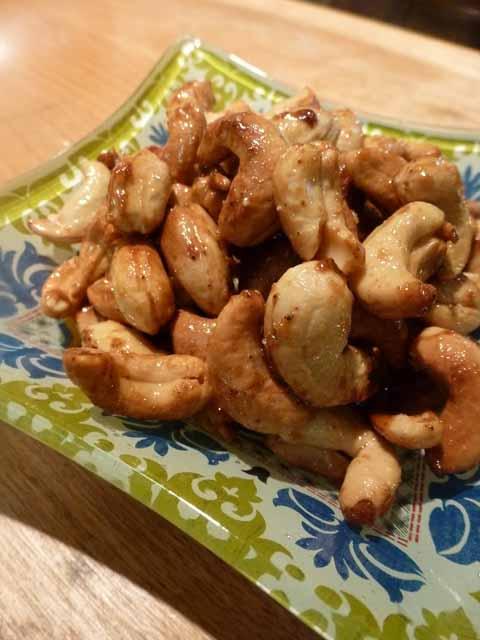 ginger chili cashews 2