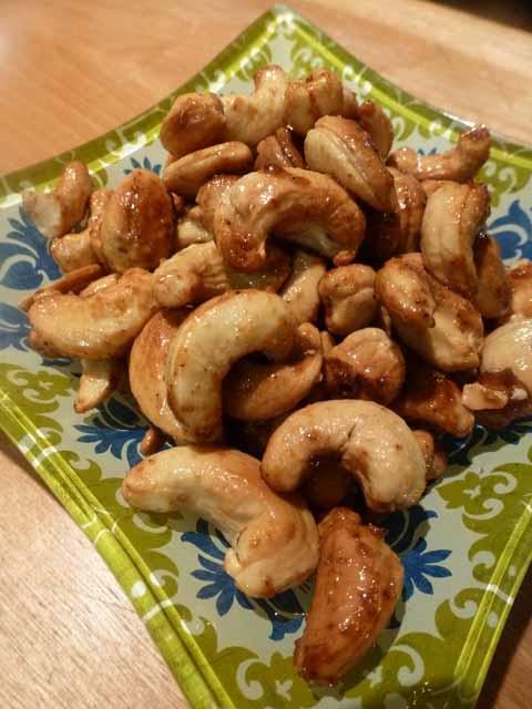 Chili Ginger Cashews
