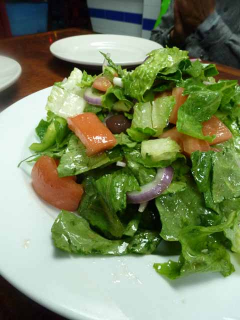 greek salad at Astoria Seafood