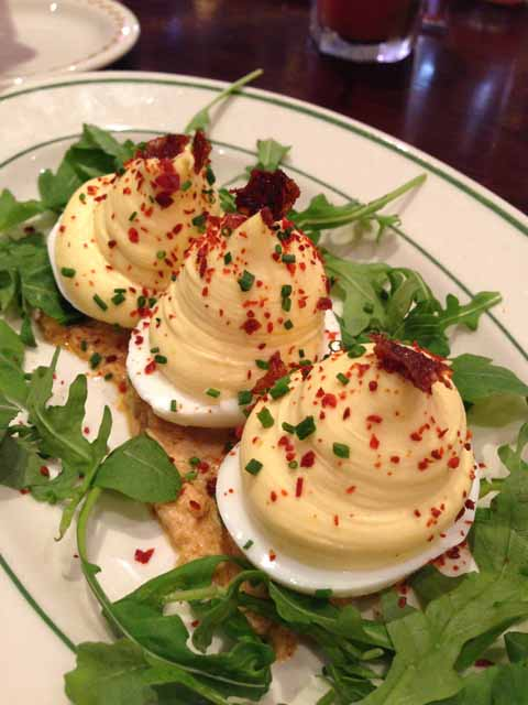 Deviled Eggs at Red Rooster