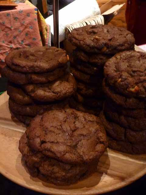 Chocolate Cookies from krumvillebakeshop.com