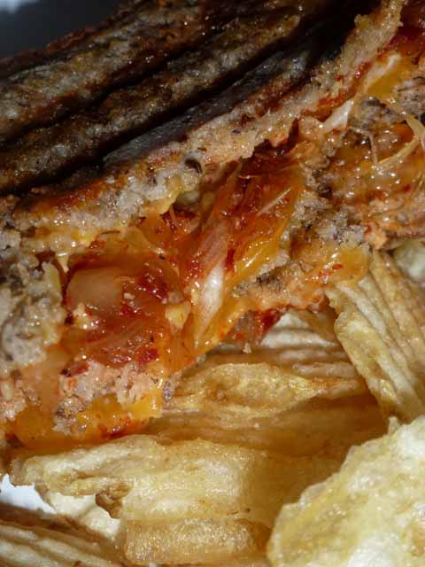 KimChee Grilled Cheese from KimCheeLicious